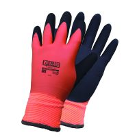 Fully Coated Winter Glove with sandy foam palm